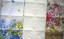 Одеяло стеганое летнее Камиса полутороспальное 140х205 см бязь