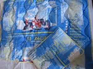 Комплект нормальный детский Камиса Kamisa одеяло 140х110 см и подушка 40х60 см бязь