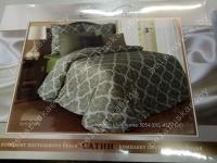 Постельное белье Евро Блакит арт. 4251 Шантильи, рис. 505401, страйп-сатин