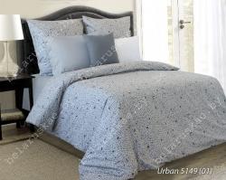 Постельное белье 1,5 спальное Блакит арт. 3319 Урбан, рис. 514901, поплин