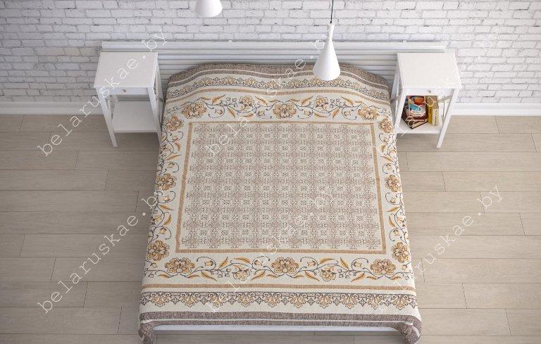 Покрывало льняное 16С433_132_2 Традиция Белорусский лен, размер 205х225 см