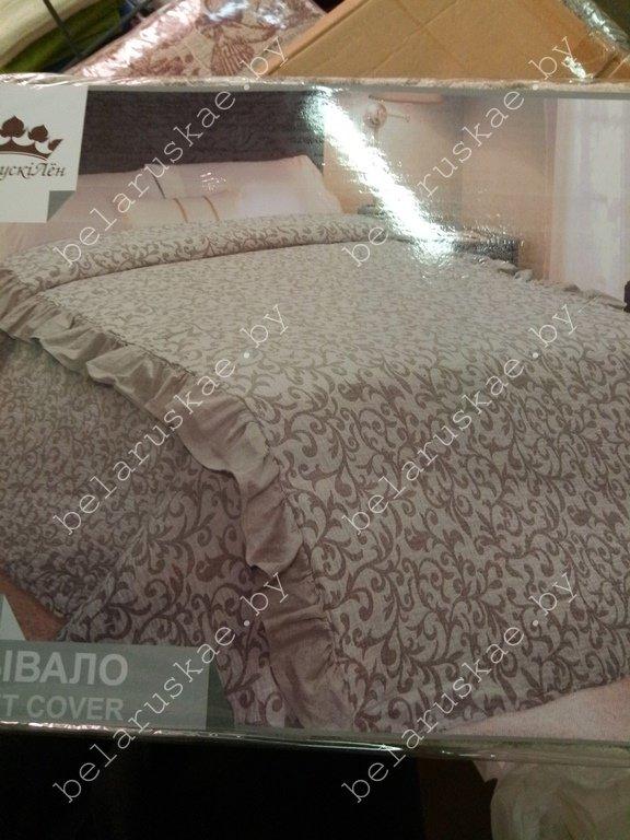 Покрывало льняное 17С40_21_330 Злато Белорусский лен, размер 210х230 см