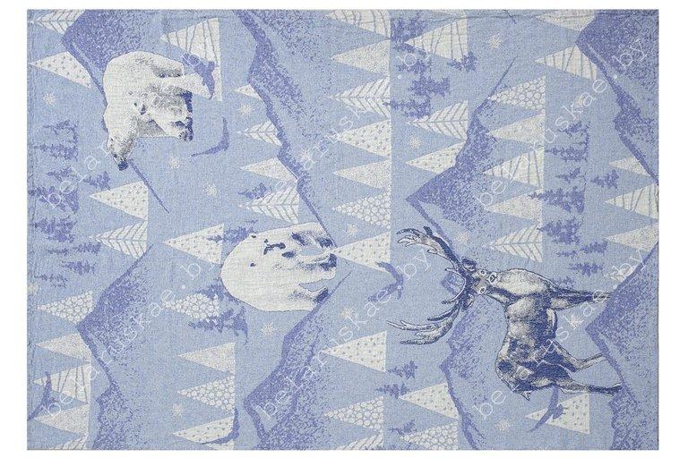 Плед льняной 18С240_504_1 Северный Оршанский льнокомбинат, размер 160х120 см или 170х120 см
