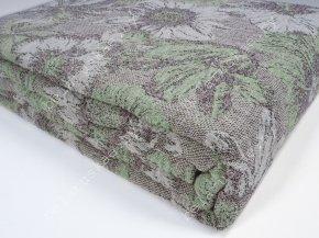 Покрывало льняное 18С50_202_16 Цветочный ковер Белорусский лен, размер 240х210 см