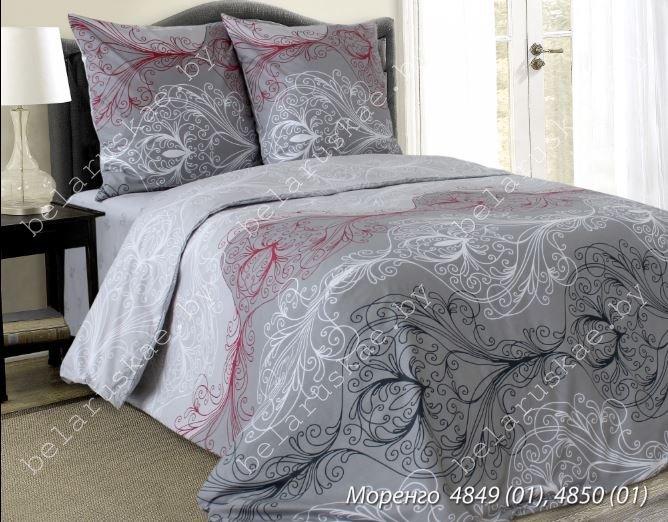 Постельное белье 2-х спальное Блакит Премиум арт. 4133 Моренго, рис.484901, бязь премиум
