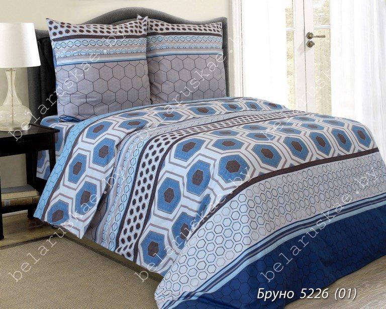 Постельное белье 2-х спальное Паулинка арт. 4125 Бруно, рис. 522601, бязь