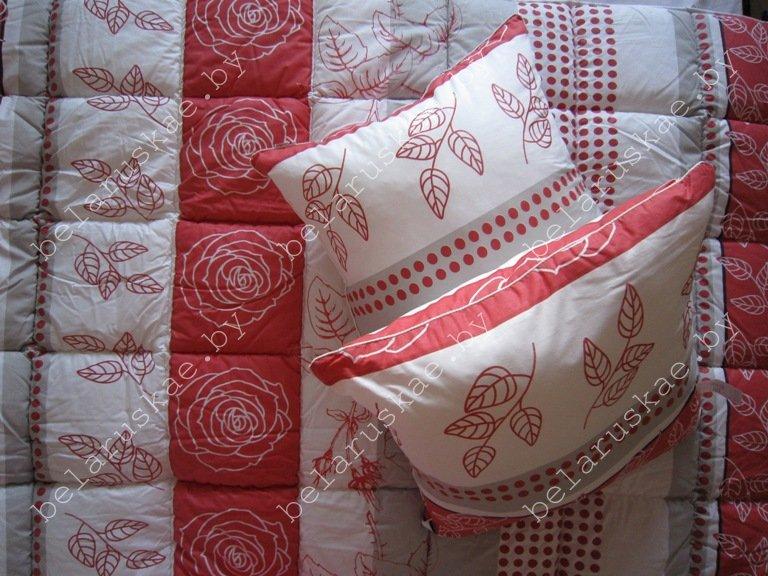 Комплект спальный тяжелый двуспальный (Одеяло + 2 Подушки) Камиса Kamisa, КТ-172/70, бязь
