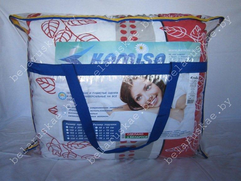 Комплект спальный тяжелый полутороспальный (Одеяло + 2 Подушки) Камиса Kamisa, КТ-150/50, бязь