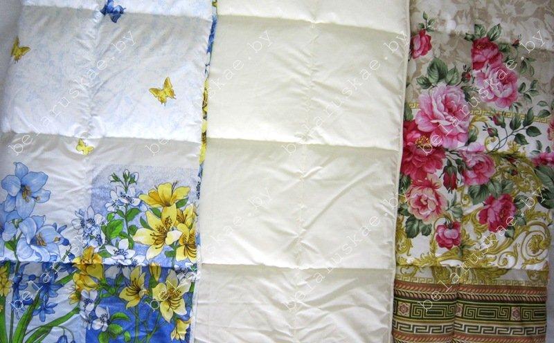 Одеяло стеганое летнее Камиса Kamisa полутороспальное 140х205 см, ОДЛ-140, бязь