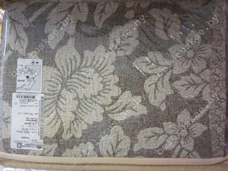 Покрывало льняное 16С433_65_6 Фантазия Белорусский лен, размер 205х225 см