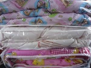 Одеяло детское нормальное Стандарт Камиса Kamisa 140х110 см, ОДН-110, бязь
