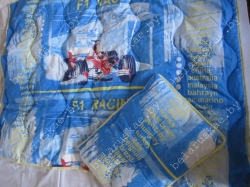 Комплект спальный детский тяжелый (Одеяло + Подушка) Камиса Kamisa, КДТ-110/40, бязь