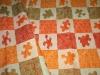 Плед детский льняной 12С568_145_3 Пазл Оршанский льнокомбинат, размер 200х125 см