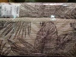 Плед льняной 16С376_64_2 Листья Белорусский лен Оршанский льнокомбинат, размер 200х150 см