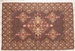 Покрывало жаккардовое льняное 17С260_112_3 Голд Белорусский лен, размер 150х215 см