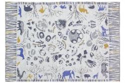 Плед детский льняной 19С22_479_1 Зоопарк Оршанский льнокомбинат, размер 120х180 см