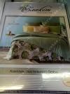 Постельное белье Евро Блакит Премиум арт. 4134 Бали, рис. 511102, бязь премиум