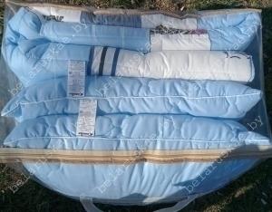 Комплект спальный летний евро (Одеяло + 2 Подушки) Камиса Kamisa, КЛ-200/50, бязь