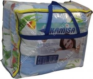 Комплект спальный летний полутороспальный (Одеяло + Подушка) Камиса Kamisa, КЛ-140/50, бязь