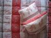 Комплект спальный нормальный двуспальный (Одеяло + 2 Подушки) Камиса, КН-172/70, бязь