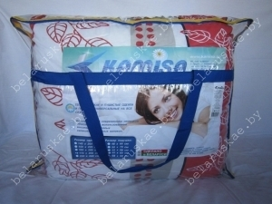 Комплект спальный летний полутороспальный (Одеяло + 2 Подушки) Камиса Kamisa, КЛ-150/50, бязь